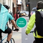 The expansion of Uber Eats and Deliveroo